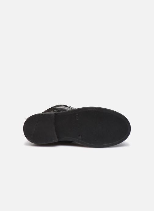 Stiefel Bopy Sapoli schwarz ansicht von oben
