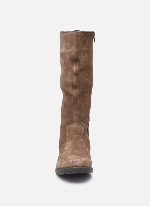 Bottes Bopy Sicro Marron vue portées chaussures
