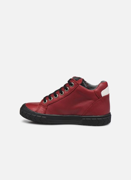 Sneaker Bopy Vibus weinrot ansicht von vorne