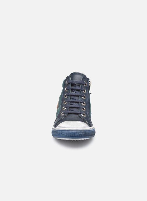 Baskets Bopy Vidchy Bleu vue portées chaussures