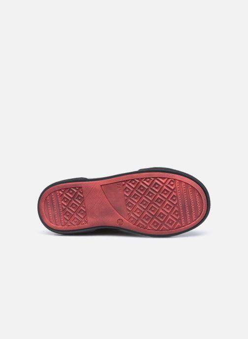Baskets Bopy Vemigio Gris vue haut