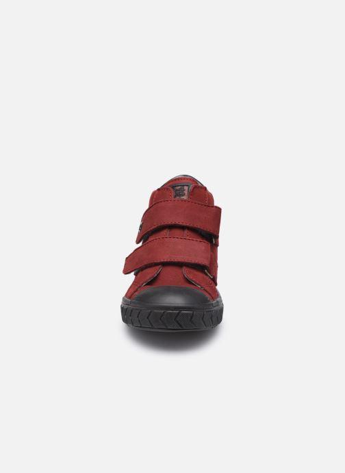 Sneaker Bopy Valeno weinrot schuhe getragen