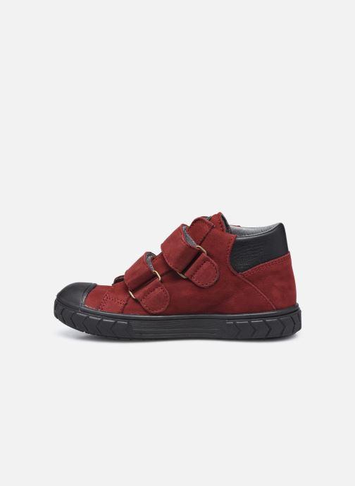 Sneaker Bopy Valeno weinrot ansicht von vorne