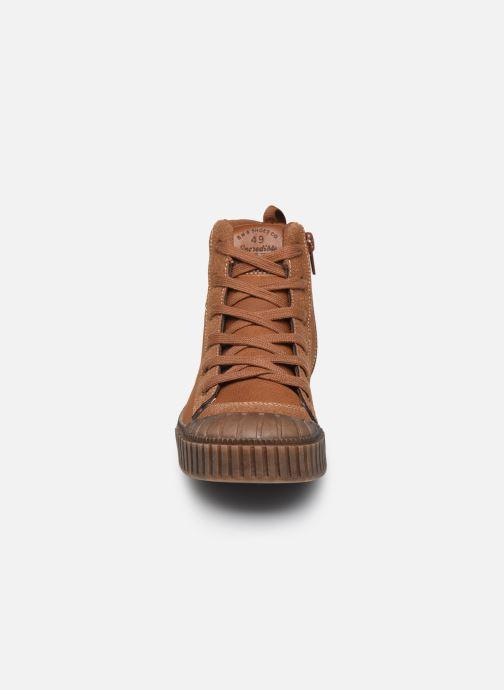 Baskets Bopy Tacosa SK8 Marron vue portées chaussures