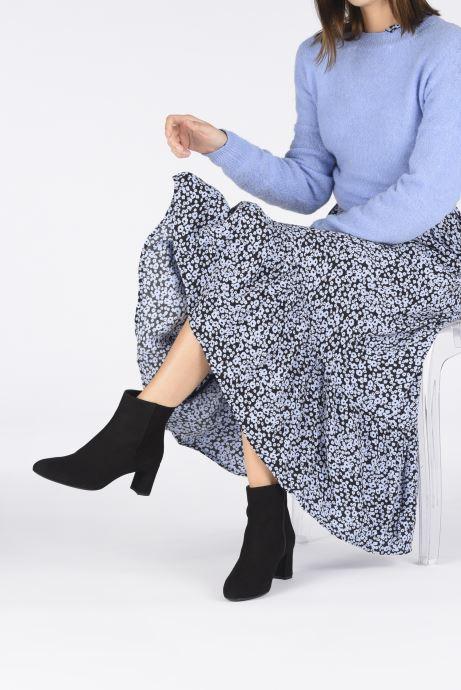 Stiefeletten & Boots Unisa MARLIN schwarz ansicht von unten / tasche getragen