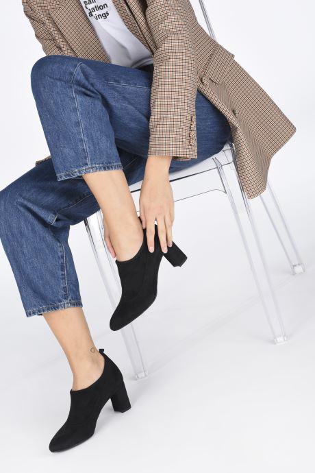 Stiefeletten & Boots Unisa MESI schwarz ansicht von unten / tasche getragen