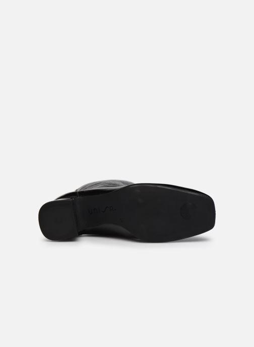 Stiefeletten & Boots Unisa MONCADA schwarz ansicht von oben