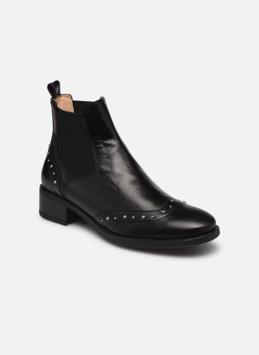 Bottines et boots Unisa EFRAIN Noir vue détail/paire