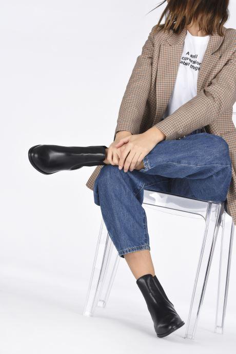 Stiefeletten & Boots Unisa BOYER schwarz ansicht von unten / tasche getragen