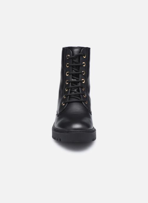 Stiefeletten & Boots Unisa GISPER schwarz schuhe getragen