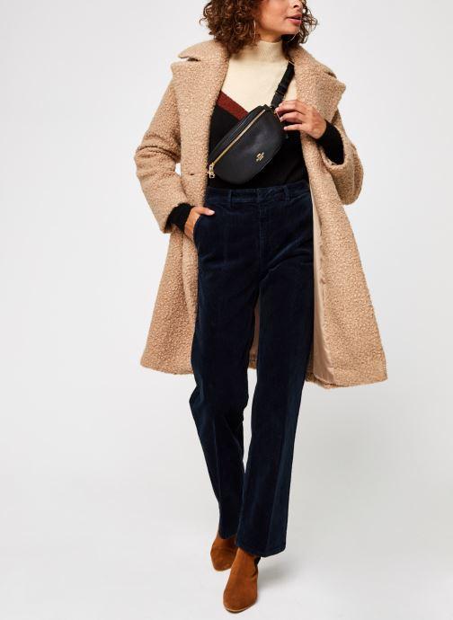 Vêtements Pieces Pcsallie Coat Marron vue bas / vue portée sac