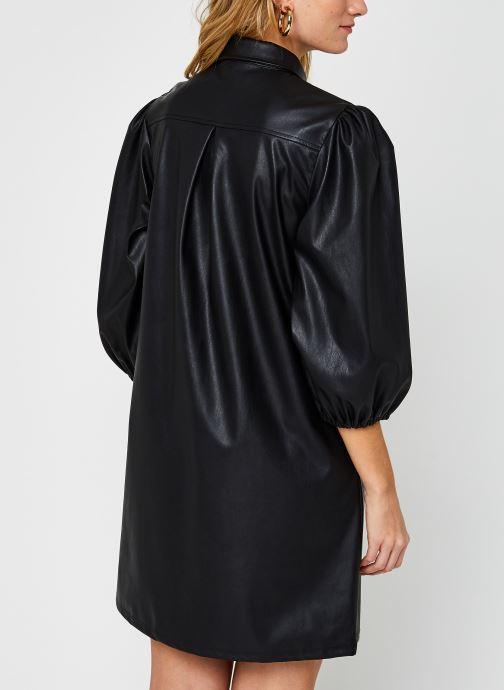 Kleding Pieces Pcsalira 3/4 Dress Zwart model