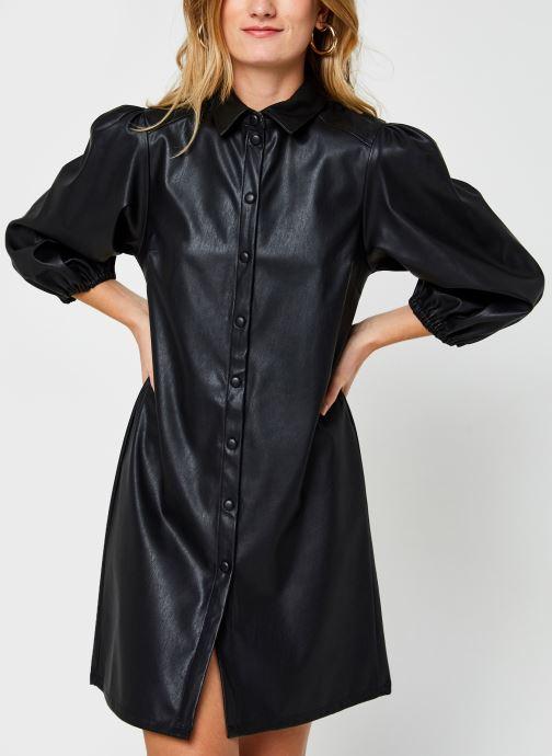 Kleding Pieces Pcsalira 3/4 Dress Zwart rechts