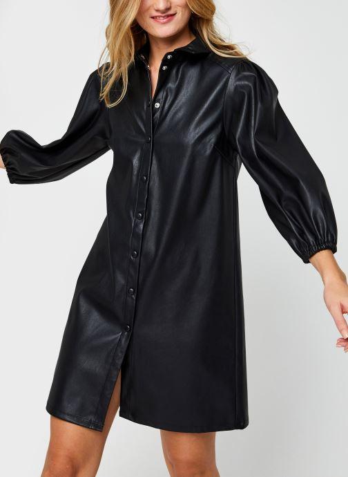 Kleding Pieces Pcsalira 3/4 Dress Zwart detail