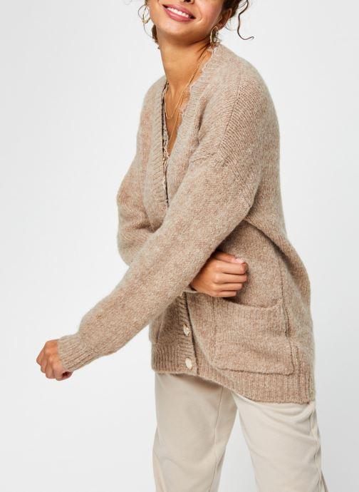 Gilet - Pcsonia Ls Wool Knit Cardigan Pg