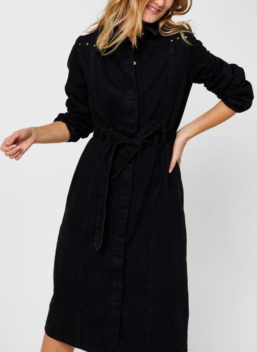 Vêtements Pieces Pcrosie Midi Stud Dress Noir vue détail/paire