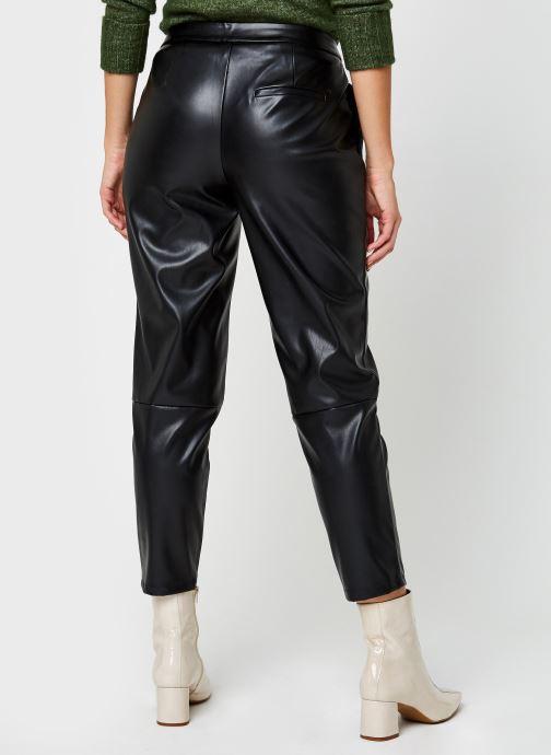Kleding Pieces Pcroot Cropped Pants Zwart model