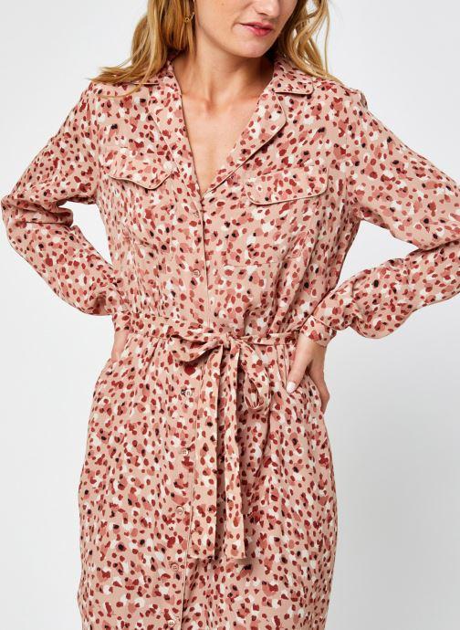 Vêtements Pieces Pcraya Midi Dress Beige vue détail/paire