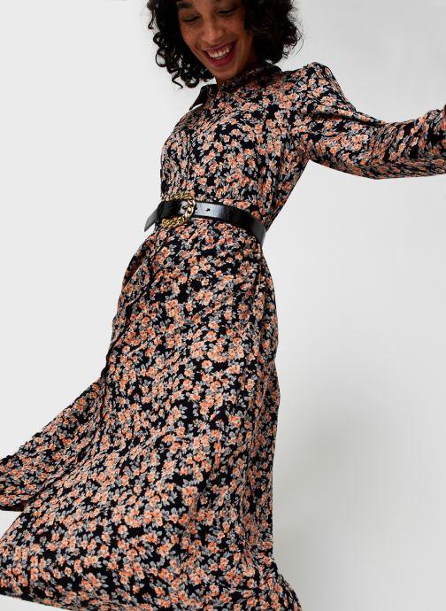 Vêtements Pieces Pcrandy Shirt Midi Dress Noir vue détail/paire