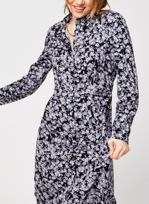 Kleding Pieces Pcrandy Shirt Midi Dress Zwart detail