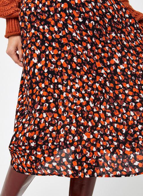 Vêtements Pieces Pcraya Midi Skirt Noir vue face