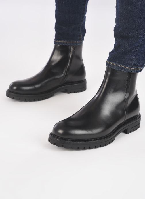 Bottines et boots Mr SARENZA Mutini Noir vue bas / vue portée sac