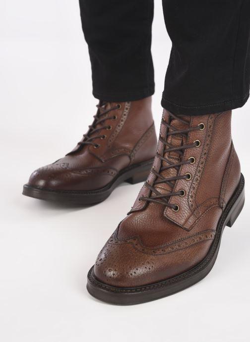 Bottines et boots Mr SARENZA Maywood Marron vue bas / vue portée sac