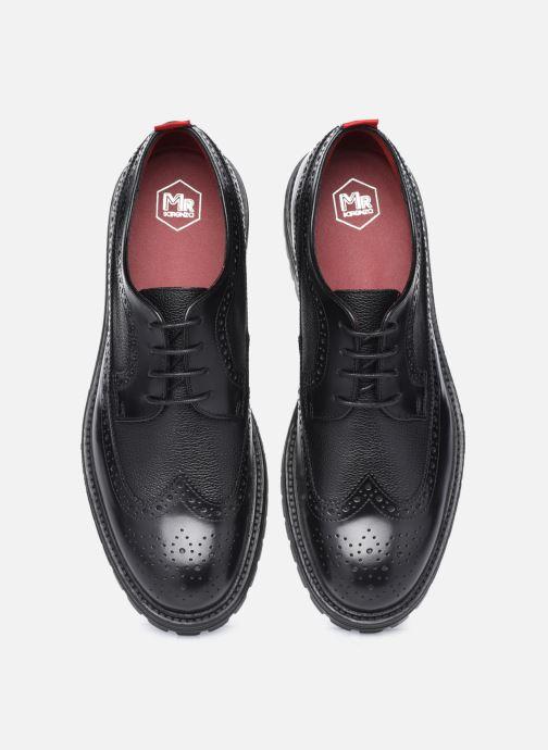 Scarpe con lacci Mr SARENZA Monti Nero modello indossato