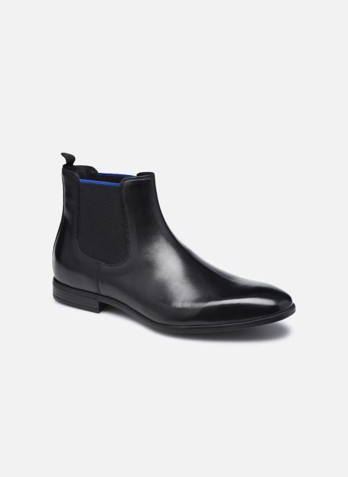 Ankelstøvler Marvin&Co Melezio Sort detaljeret billede af skoene