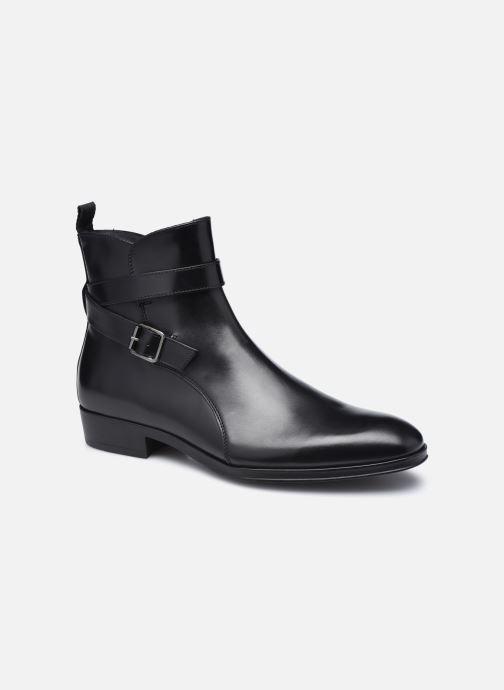 Ankelstøvler Marvin&Co Maurilio Sort detaljeret billede af skoene