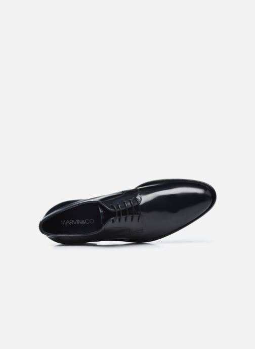 Zapatos con cordones Marvin&Co Mansueto Azul vista lateral izquierda