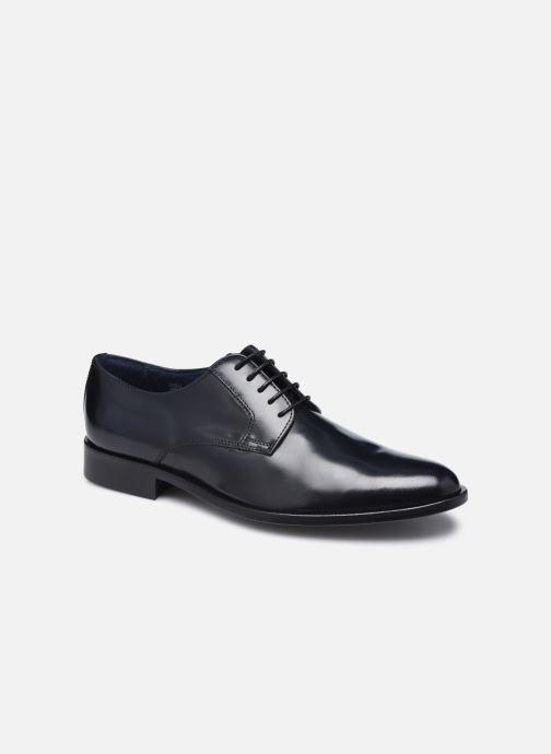 Snøresko Marvin&Co Mansueto Blå detaljeret billede af skoene