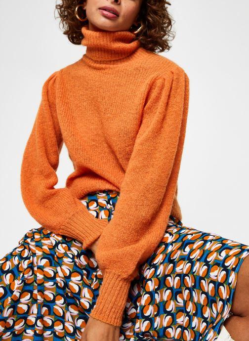 Ropa Leon & Harper Mommie Plain Naranja vista de detalle / par