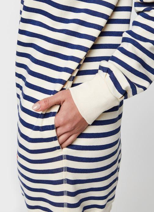 Vêtements Leon & Harper Rana Stripes Blanc vue face