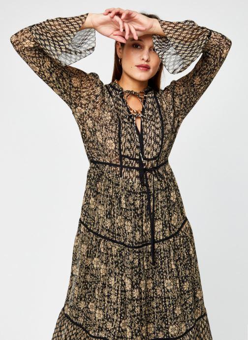 Vêtements Leon & Harper Rime Mix Noir vue détail/paire