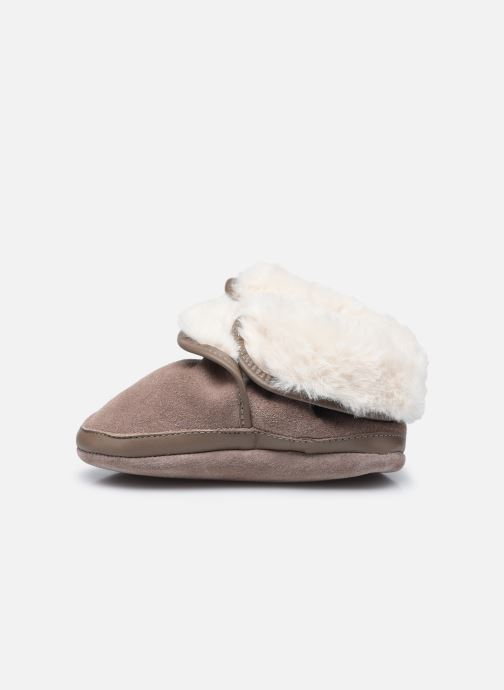 Chaussons Robeez Cosy Boot Marron vue face