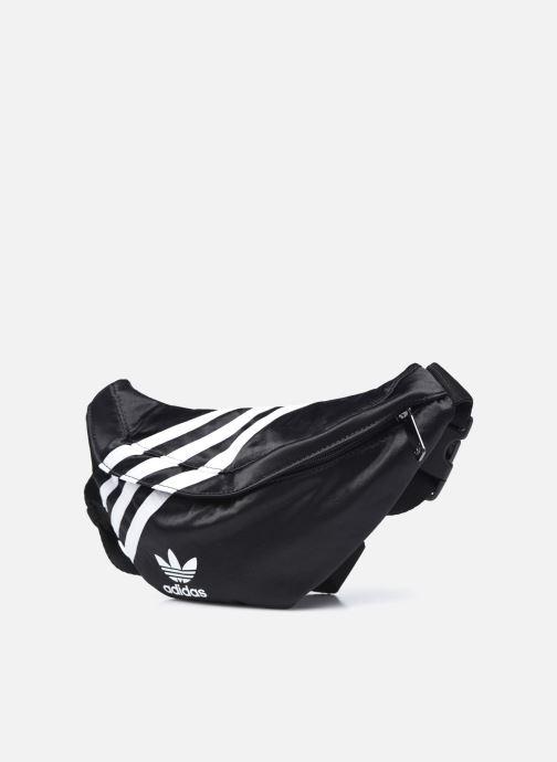 Bolsos de mano adidas originals Waistbag Nylon Negro vista del modelo