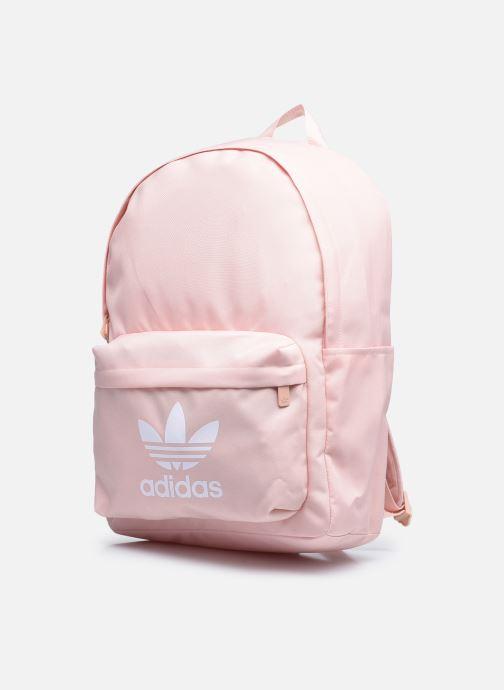 Rucksäcke adidas originals Ac Classic Bp rosa schuhe getragen