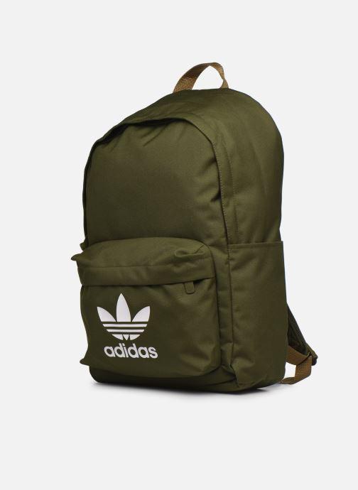 Rucksäcke adidas originals Ac Classic Bp grün schuhe getragen
