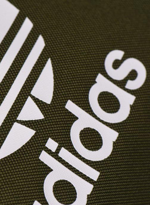 Rucksäcke adidas originals Ac Classic Bp grün ansicht von links