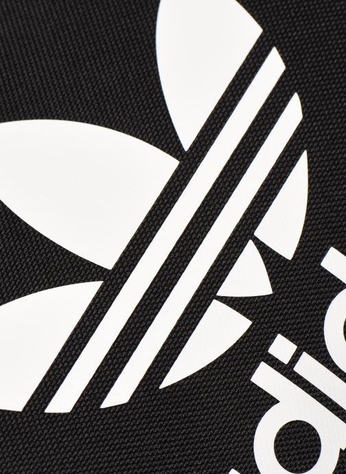 Sporttaschen adidas originals Ac Shoulder Bag schwarz ansicht von links