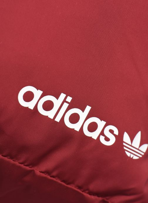 Rucksäcke adidas originals Pe Modern Bp rot ansicht von links