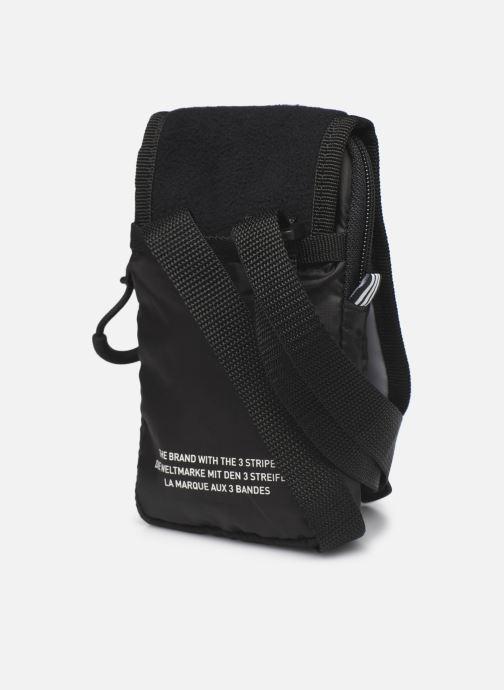 Herrentaschen adidas originals Pe Map Bag schwarz ansicht von rechts