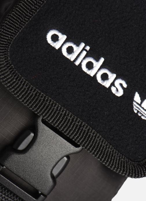 Herentassen adidas originals Pe Map Bag Zwart links