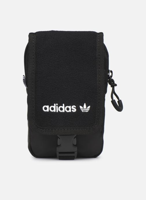Herentassen adidas originals Pe Map Bag Zwart detail