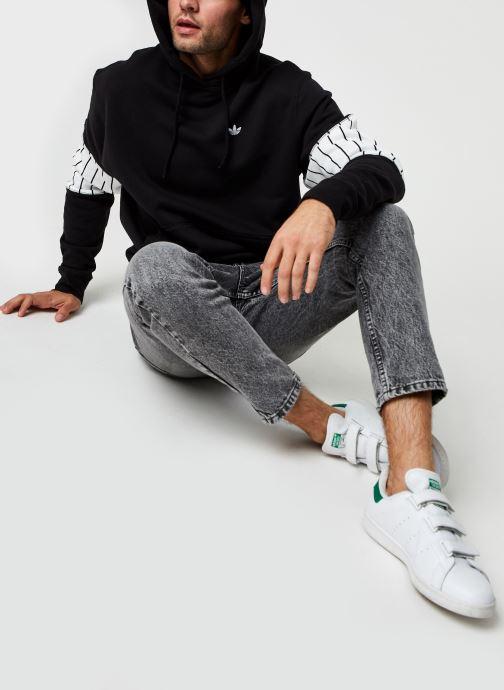 Vêtements adidas originals Summer Bb Hoody Noir vue bas / vue portée sac