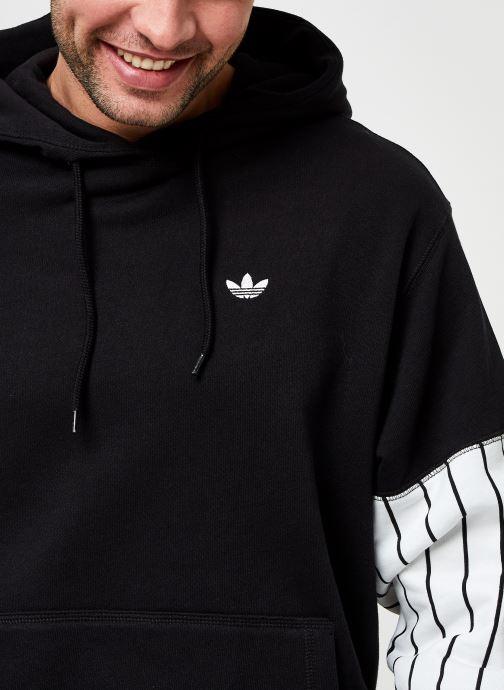 Vêtements adidas originals Summer Bb Hoody Noir vue face