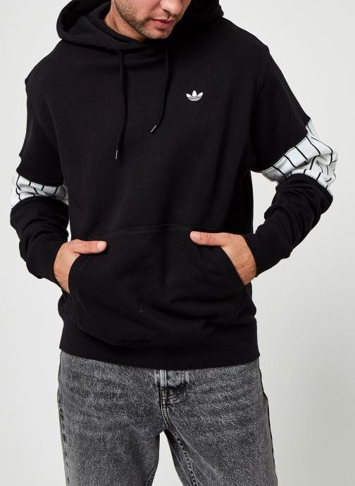 Vêtements adidas originals Summer Bb Hoody Noir vue droite