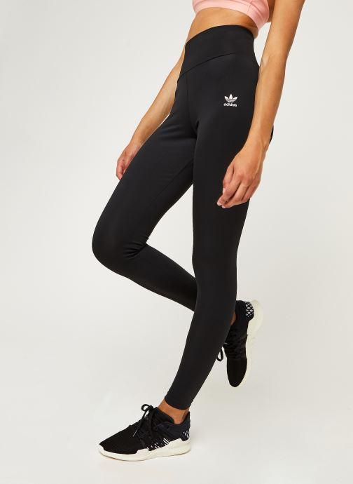 Vêtements adidas originals Hw Tight Noir vue détail/paire