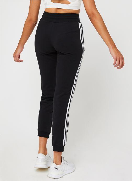 Vêtements adidas originals Slim Pants Noir vue portées chaussures